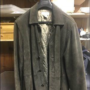 Men's Medeum Suede J Crew Coat